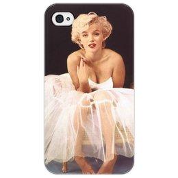 """Чехол для iPhone 4/4S """"Мэрилин Монро"""" - певица, блондинка, актриса, мэрилин монро"""