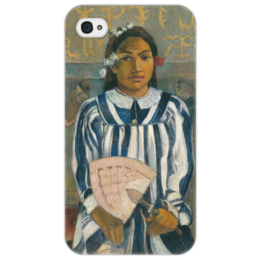 "Чехол для iPhone 4/4S ""Tehamana Has Many Parents"" - картина, поль гоген"