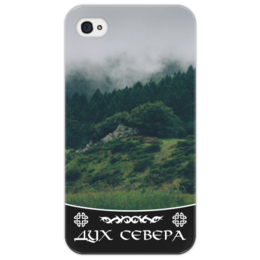 "Чехол для iPhone 4/4S ""Дух Севера"" - лес, природа, север, дух севера"