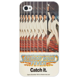 "Чехол для iPhone 4/4S ""Saturday Night Fever"" - rock, elvis"