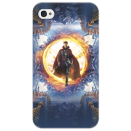 "Чехол для iPhone 4/4S ""Доктор Стрэндж"" - доктор стрэндж, мстители, марвел, marvel, doctor strange"