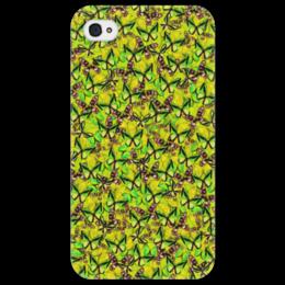 """Чехол для iPhone 4/4S """"Ornithoptera"""" - бабочки, природа, текстура, фон"""