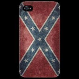 "Чехол для iPhone 4/4S ""Confederate"" - флаг, flag, confederate"