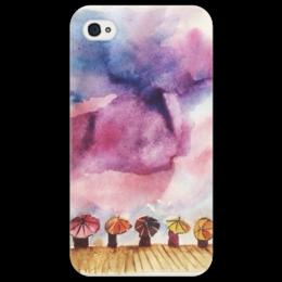 "Чехол для iPhone 4/4S ""В ожидание чуда"" - в подарок, sky, небо, чудо, анастасияцапко, miracle"