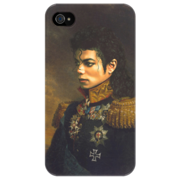 "Чехол для iPhone 4/4S ""Michael Jackson"" - арт, king, майкл джексон, michael jackson, legend, король музыки поп"
