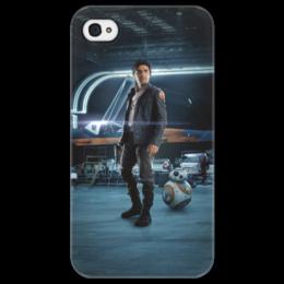 """Чехол для iPhone 4/4S """"Звездные войны - По Дамерон"""" - фантастика, звездные войны, дарт вейдер, кино, star wars"""