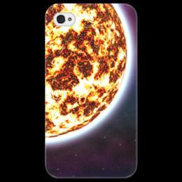 """Чехол для iPhone 4/4S """"Великий Космос"""" - космос, наука, прогресс, денис гесс, the spaceway"""