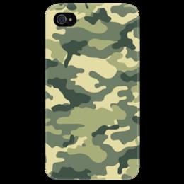 """Чехол для iPhone 4/4S """"Камуфляж"""" - арт, 23 февраля, армия, камуфляж, army, camouflage, camo"""