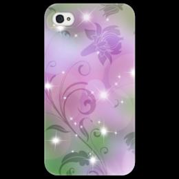 """Чехол для iPhone 4/4S """"Лилия"""" - цветок, лилия"""
