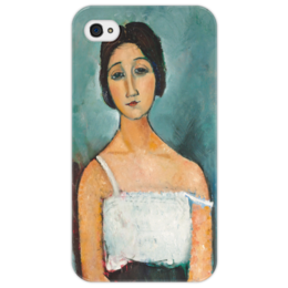"Чехол для iPhone 4/4S ""Кристина"" - картина, модильяни"