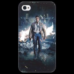 """Чехол для iPhone 4/4S """"Звездные войны - Финн"""" - звездные войны, фантастика, кино, дарт вейдер, star wars"""