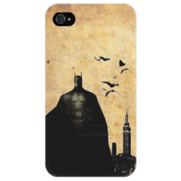 "Чехол для iPhone 4/4S ""Batman"" - batman, dc, бэтмен, бэтмен против супермена, комиксы"