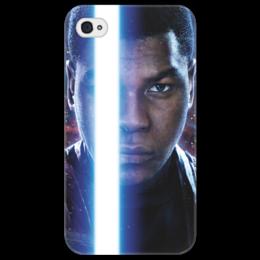 "Чехол для iPhone 4/4S ""Звездные войны - Финн"" - звездные войны, кино, фантастика, дарт вейдер, star wars"