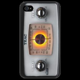 "Чехол для iPhone 4/4S ""Приемник"" - ретро, радио, vintage, radio, приемник"