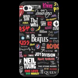 """Чехол для iPhone 4/4S """"Rock Рок"""" - прикольные, в подарок, оригинально"""