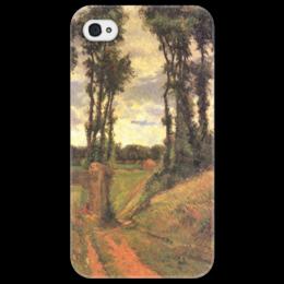 "Чехол для iPhone 4/4S ""Тополя, Осни"" - картина, поль гоген"