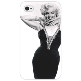 """Чехол для iPhone 4/4S """"Мэрилин Монро"""" - певица, блондинка, монро, актриса, мэрилин монро"""