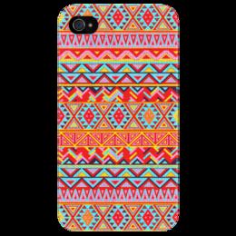 """Чехол для iPhone 4/4S """"Индийский узор"""" - арт, узор, hipster, этнический, ethnic"""