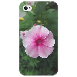 """Чехол для iPhone 4/4S """"Цветущая долина"""" - лето, алтай, горный алтай, цветущая долина, долина цветов"""
