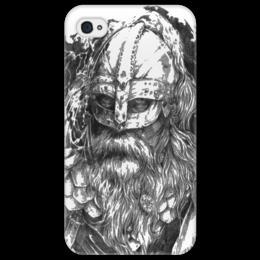 """Чехол для iPhone 4/4S """"Путь воина"""" - свобода, история, викинг, прогресс, путь воина"""