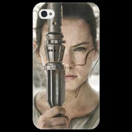 "Чехол для iPhone 4/4S ""Звездные войны - Рей"" - звездные войны, кино, фантастика, дарт вейдер, star wars"