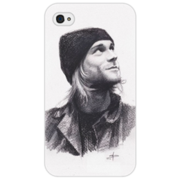 "Чехол для iPhone 4/4S ""Kurt is Dreamer"" - kurt cobain, курт кобейн, кобейн, dreamer, мечтатель"
