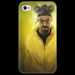"""Чехол для iPhone 4/4S """"Хайзенберг  """"Во все тяжкие"""""""" - сериалы, bad, все, во, хайзенберг, breaking, тяжкие, breaking bad"""