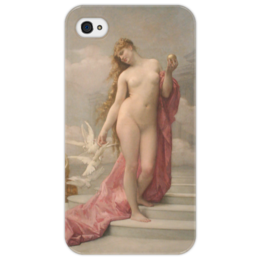 "Чехол для iPhone 4/4S ""Венера (картина Кабанеля)"" - картина, кабанель"