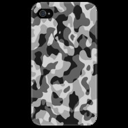 """Чехол для iPhone 4/4S """"Камуфляж"""" - арт, 23 февраля, армия, army, камуфляж, camo, camouflage"""