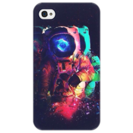 "Чехол для iPhone 4/4S ""Космос"" - космос, космонавт, space, astronaut"