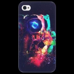"""Чехол для iPhone 4/4S """"Космос"""" - space, космос, astronaut, космонавт"""