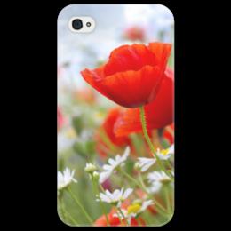 """Чехол для iPhone 4/4S """"цветы"""" - n-a-v"""