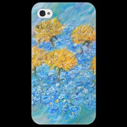 "Чехол для iPhone 4/4S ""Одуванчики"" - summer, весна, красота, май"