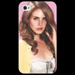 """Чехол для iPhone 4/4S """"Лана Дель Рей"""" - лана, лана дель рей"""