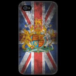 """Чехол для iPhone 4/4S """"Винтажный чехол для iPhone 4/4s Великобритания"""" - арт, креативно, выделись из толпы"""