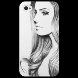 "Чехол для iPhone 4/4S ""Lana Del Ray"" - девушка, lana del ray"