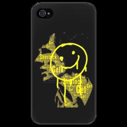 """Чехол для iPhone 4/4S """"Шерлок Холмс"""" - арт, sherlock, шерлок холмс, drama, detective"""