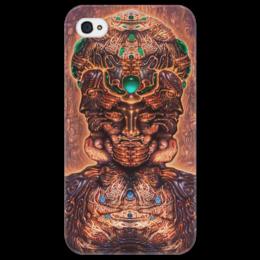 """Чехол для iPhone 4/4S """"мысли"""" - мысли, art, abstract, thoughts"""