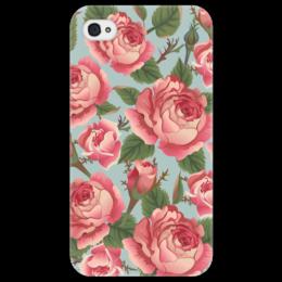 """Чехол для iPhone 4/4S """"Розалия"""" - цветы, розы"""