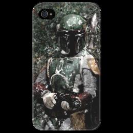 """Чехол для iPhone 4/4S """"Boba Fett"""" - boba fett, star wars, camo, боба фетт, звёздные войны, охотник за головами"""