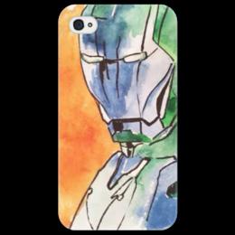 """Чехол для iPhone 4/4S """"Железный человек """" - 23 февраля, мужская, иллюстрация, marvel, мужчины, анастасияцапко, ironman, железныйчеловек"""