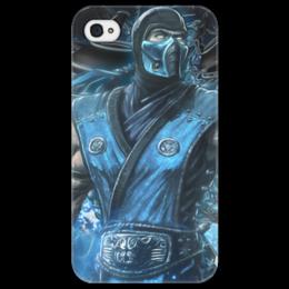 """Чехол для iPhone 4/4S """"Mortal Combat"""" - летсплей, для геймеров, о играх, про игры, с играми"""