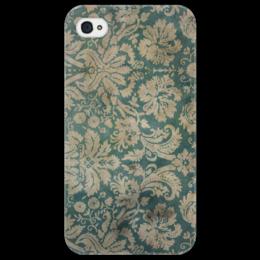 """Чехол для iPhone 4/4S """"Abstract 2"""" - тектура"""