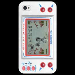 """Чехол для iPhone 4/4S """"электроника"""" - прикольно, прикол, юмор, смешные, приколы, смешное, популярные, прикольные, в подарок, оригинально"""