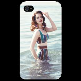"""Чехол для iPhone 4/4S """"Лана Дель Рей"""""""