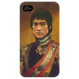 "Чехол для iPhone 4/4S ""Bruce Lee"" - арт, bruce lee, martial arts, кунг-фу"