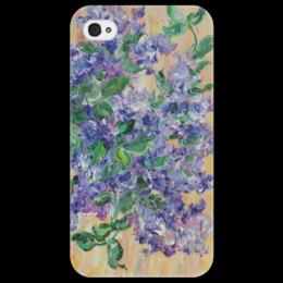 """Чехол для iPhone 4/4S """"Сирень"""" - весна, красота, девушке, цветочки, сирень"""