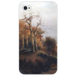 "Чехол для iPhone 4/4S ""Осенний лес. Кунцево. (Проклятое место)"" - картина, саврасов"