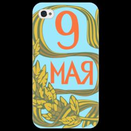 """Чехол для iPhone 4/4S """"Без названия"""" - ссср, плакат, вов"""