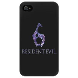 "Чехол для iPhone 4/4S ""Resident Evil 6"" - игра, обитель зла, resident evil, umbrella, re"